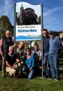 Willkommen in Nütterden – Dorf begrüßt mit neuer Beschilderung