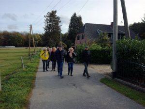 Helloween-Wanderung mit Kürbissuppe